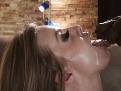 Cheating wife gets caught taking BBC in her hot pussy