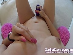 Lelu Love-MY POV Nipple Play And Masturbation