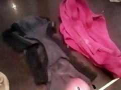Jerking On Stolen Panties