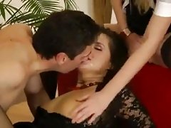 Anal and Pissing Threesome