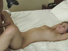Bigtits casting beauty fucked by heavyweight fuck tool