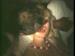 french wife touched & licked in porn cinema (80s)