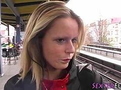 german skank cum in mouth feature