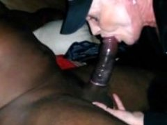 wife give bj large black cock