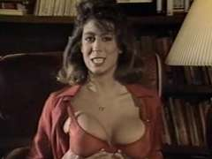 vintage pantyhose episode with Christy Canyon ST69