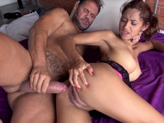 Anal, Hard, Fille latino, Petite femme, Gicler, Adolescente, Jouets
