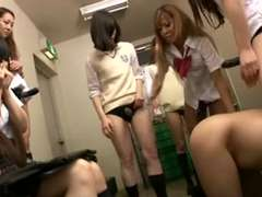 Japanese Thick Group Ladyprick On Tart's