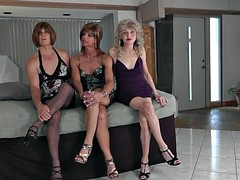 crossdresser trio - lesson 1