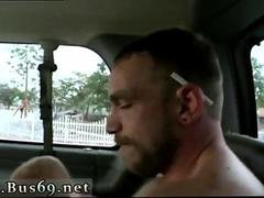 Straight guy fucks with a twink in the moving van