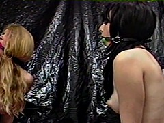two hotties smokers the wicked pleasure in the dungeon