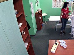 Doctor caught wanking off in office