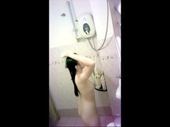 Malaysian chick in the shower part 1