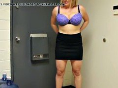 Bigtitted housewife jerking dick pov