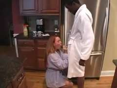 Pound her all night.getting off.masturbation she can't get enough of his BIG BLACK COCK!