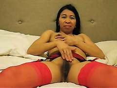 Kinky filipina gina jones eats semen