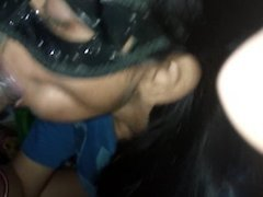 Indian Wife Sucking And Licking Black Cock