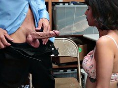 LP Officer feeds Penelope Reed his thick cock
