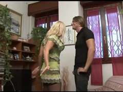 Cheating Italian Housewife with her youthful Paramour