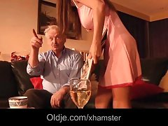 Alice Romain ass fucked by grandpa she is so hot