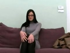 Female broad copulating with fake agent