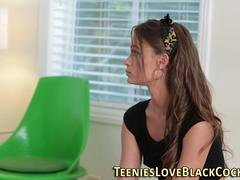 petite teen railed by bbc feature