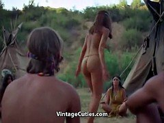 Nude Indian Girl Does Sexy Dance (1960s Vintage)