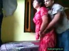 Amateur Indian couple is ready for hard sex