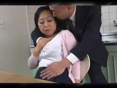 Mature Japanese mom Dreams son's pal Shaft (Censored)