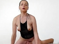 Mature fuck hole licking with Euro rookie sexually available mom Marta