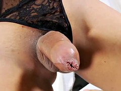 sexy Asian lboy fiat their action hungry wank cock