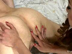 Tranny Domme and Boy Both Cum Twice!