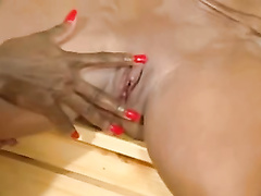 G/g muscles dolls get sweaty in the sauna