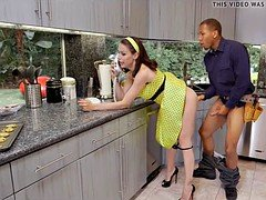 Horny Housewife craves BBC