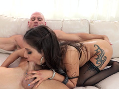 Exotic mistress surprises with oral skills and sexual wishes