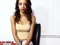 small 18yr old teen takes her highly very first monster shaft fat dark-hued dick