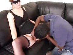 French mature Morgane takes 2 cocks