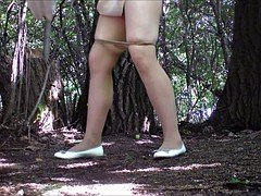 Teens Pissing In The Forest