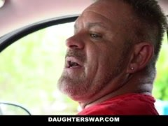 DaughterSwap- Dad Exchanges Daughter To Pay For Accident