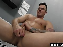 Big dick son threesome and facial cum