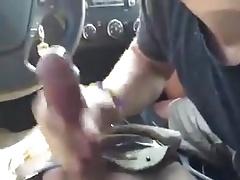 Car blow job.