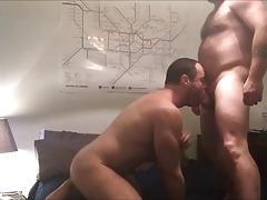 Couple fuck - cum in ass