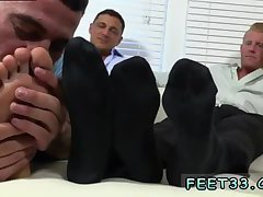 Ricky licking feet
