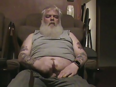 Old Man Wanking