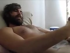 Hot beard cum