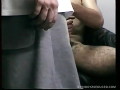 Vinnie Sucks and Strokes Hung Straight Boy Dino