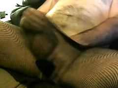 Horny in tights and panties