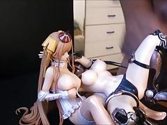 Figure Bukkake - Princess Milk and Ruby 2