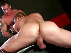 Dominant man-loving poundes his slave hard