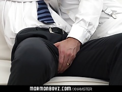 Ginger bottom passionately fucked raw by older priest