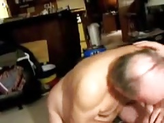Old men sucking a cock